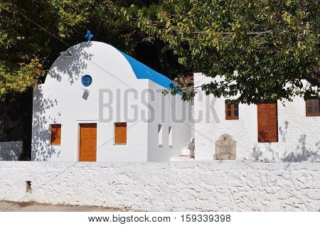famous Mammas church on island Kos in Greece