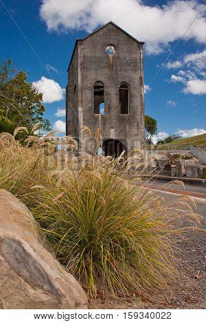Martha gold mine in Waihi, New Zealand