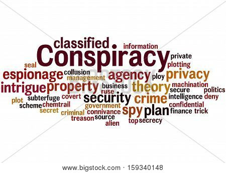 Conspiracy, Word Cloud Concept 3