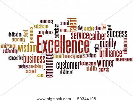 Excellence, Word Cloud Concept 3