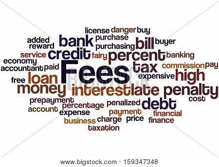 Fees, Word Cloud Concept 9
