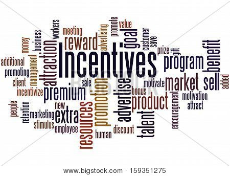 Incentives, Word Cloud Concept 2