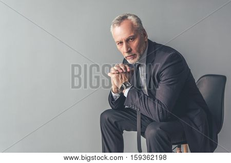 Handsome Mature Businessman