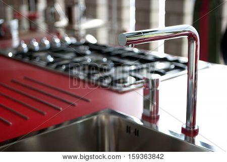 modern kitchen, detail