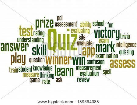 Quiz, Word Cloud Concept 2