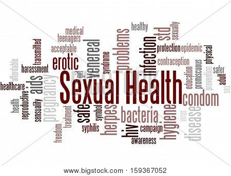 Sexual Health, Word Cloud Concept 2