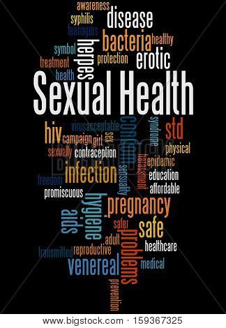 Sexual Health, Word Cloud Concept 6