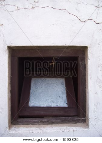 Old Square Window