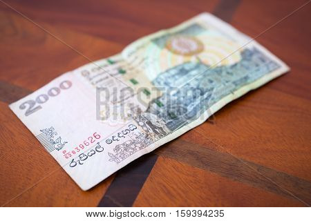 Two Thousand Rupees.
