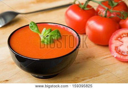 Spanish Cold Tomato-based Soup Gazpacho