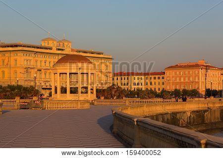 Terrazza Mascagni In Livorno, Italy