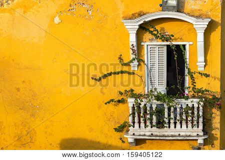 Historic Colonial Balcony