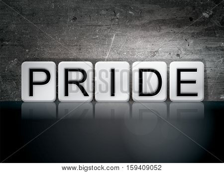Pride Tiled Letters Concept And Theme