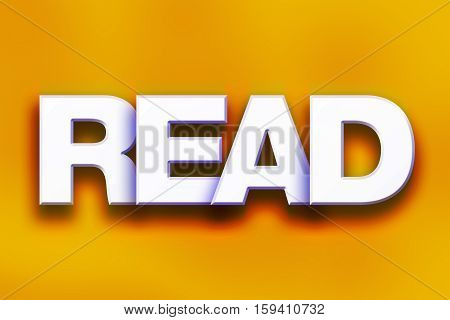 Read Concept Colorful Word Art