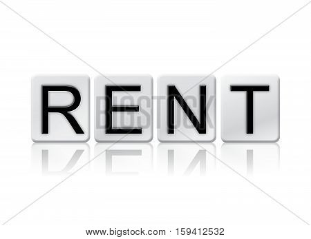 Rent Isolated Tiled Letters Concept And Theme
