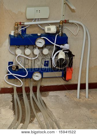 Underfloor Heating Regulation Unit