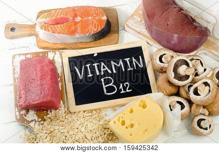 Sources Of Vitamin B12 (cobalamin).