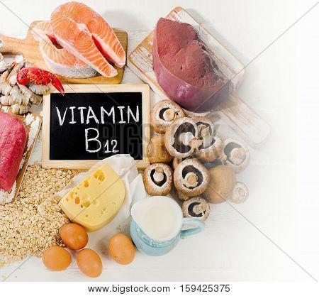 Natural Sources Of Vitamin B12