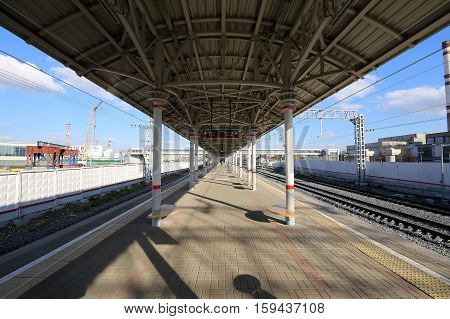 Moscow Central Circle - Little Ring, Mcc,or Mk Mzd,  Russia. Zil Railway Station