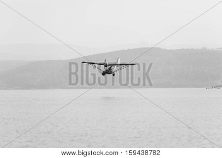 Flying Low Plane Waters