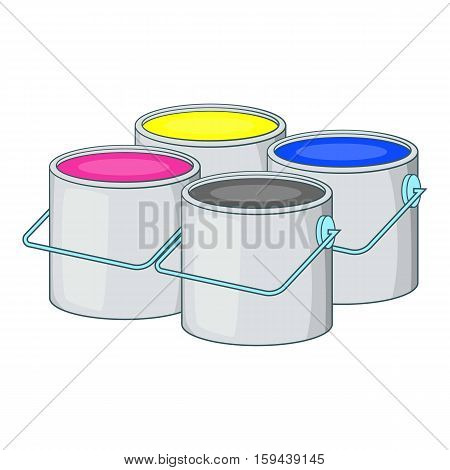 Printer ink icon. Cartoon illustration of printer ink vector icon for web design