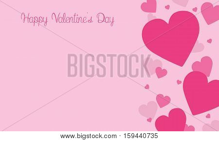 Love on pink backgrounds for valentine days collection stock