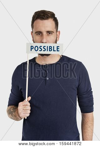 Possible Chance Hope Word Concept