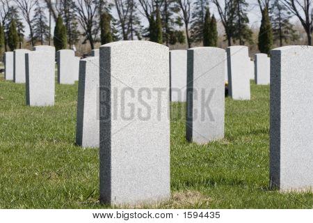 Blank Headstones
