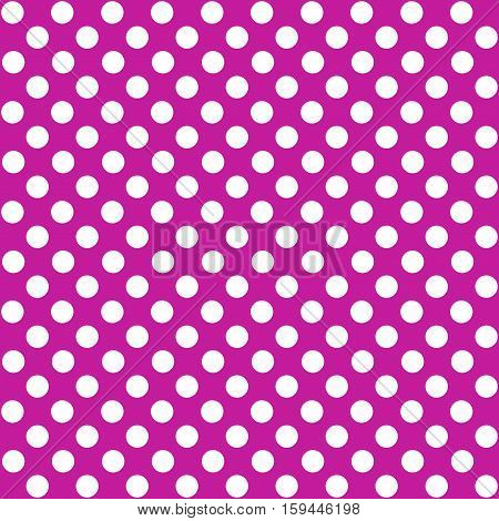 Seamless dotted background pink purple and white