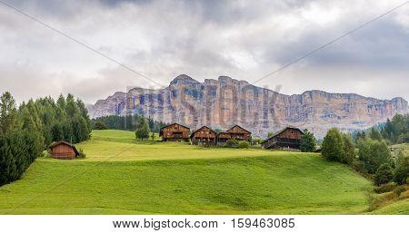Nature of Italy Dolomites near Alta Badia