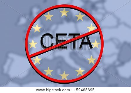 Anty Ceta - Comprehensive Economic And Trade Agreement On Euro Union Background