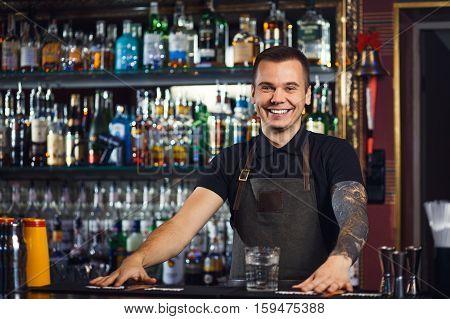Beautiful Stylish Bartender