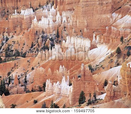Striated Rock Formations