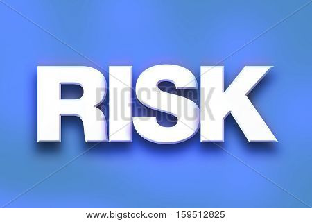 Risk Concept Colorful Word Art