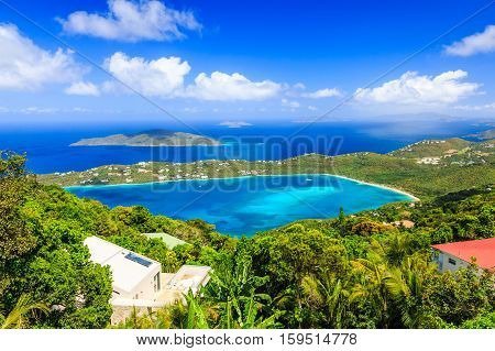 St Thomas US Virgin Islands. Magens Bay