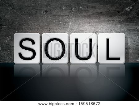 Soul Tiled Letters Concept And Theme