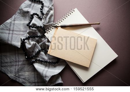 grey shades background vintage for condolence card