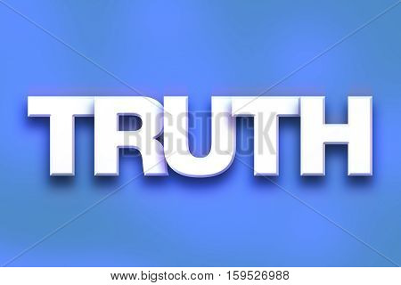Truth Concept Colorful Word Art