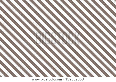 Brown stripes on white background. Striped diagonal pattern Brown diagonal lines background, Winter or Christmas theme