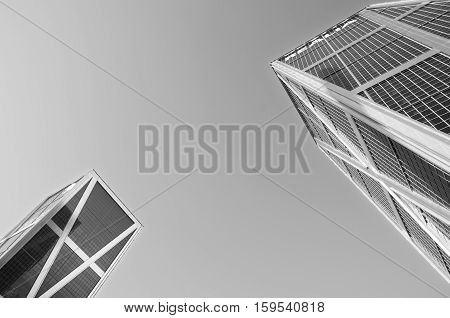 MADRID SPAIN-26 DECEMBER: Kio Towers in Madrid on 26 december 2012. The Kio towers are two inclined towers with a height of 114 meters.