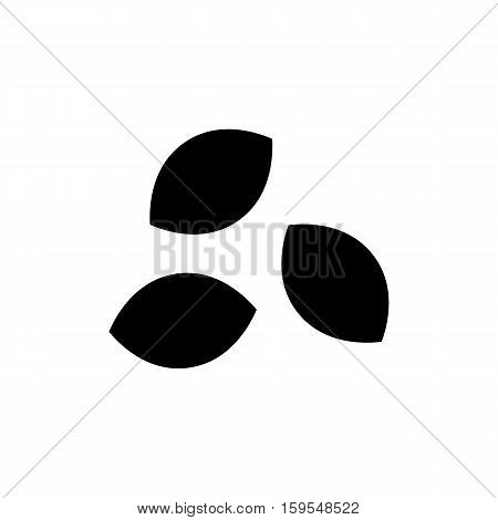Seed Icon. Flat illustration isolated vector sign symbol