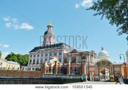 07.06.2016.Russia.Saint-Petersburg.Christian Lavra is a historic landmark of the city.
