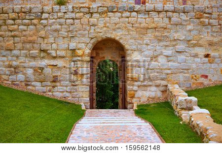 Zamora Portillo de la Lealtad door in Spain exterior image shot from public floor