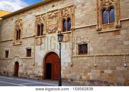 Zamora Zorrilla Square Momos palace in Spain
