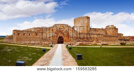 Zamora the castle El Castillo in Spain by Via de la Plata way to Santiago exterior image shot from public floor