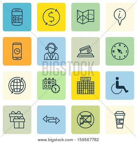 Set Of Traveling Icons On Crossroad, Accessibility And Credit Card Topics. Editable Vector Illustration. Includes Road, Credit, Crossroad And More Vector Icons.