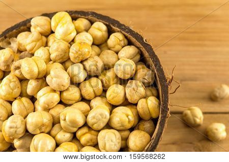 Chick Peas In A Bowl