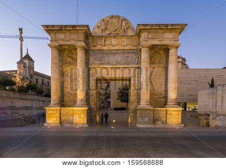 Bridge Gate In Cordoba, Spain