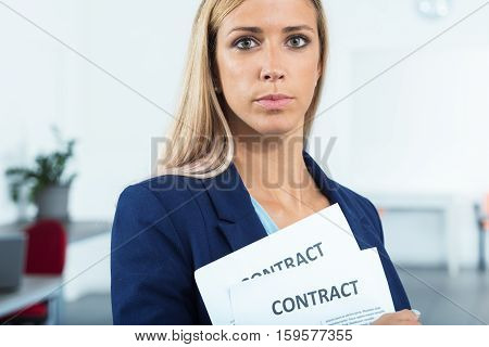 She Managed To Manage Contracts
