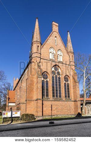 Church Of St. John, Neubrandenburg, Mecklenburg Western Pomerania